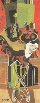 The Red Pedestal Table c1939 - Georges Braque