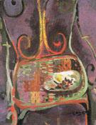 The Mauve Garden Chair c1947 - Georges Braque