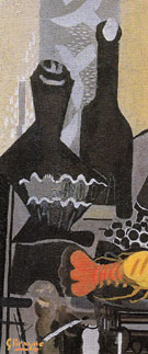 Still Life with Spiny Lobster c1948 - Georges Braque