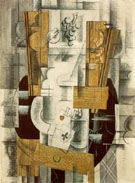 Composition with the Ace of Clubs 1913 - Georges Braque