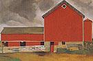 Red Barn 1928 - Georgia O'Keeffe