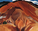 Red Hills Beyond Abiquiu 1930 - Georgia O'Keeffe