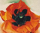 Red Poppy 1928 - Georgia O'Keeffe