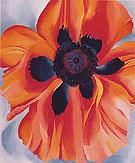 Red Poppy No VI 1928 - Georgia O'Keeffe