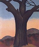 The Chestnut Grey 1924 - Georgia O'Keeffe