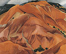The Mountain New Mwxico 1931 - Georgia O'Keeffe