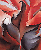 The Red Maple at Lake George 1926 - Georgia O'Keeffe