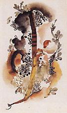 Untitled Seaweed 1920 - Georgia O'Keeffe