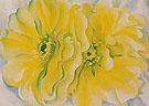 Yellow Cactus 1929 - Georgia O'Keeffe