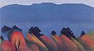 Lake George Autumn 1922 - Georgia O'Keeffe