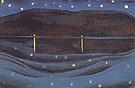Starlight Night Lake George 1922 - Georgia O'Keeffe