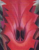 Inside Red Canna 1919 - Georgia O'Keeffe
