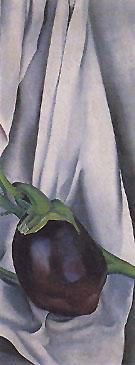 Eggplant the Plant 1924 - Georgia O'Keeffe