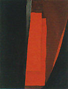 Abstraction Red and Black Night 1929 - Georgia O'Keeffe
