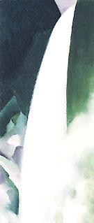 Green and White Waterfall 1957 - Georgia O'Keeffe