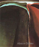 Dark Abstraction - Georgia O'Keeffe