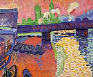 Charing Cross Bridge 1906 - Andre Derain
