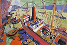 Pool of London 1906 - Andre Derain