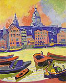 Saint Pauls Cathedral from the Thames 1906 - Andre Derain