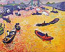 The Port of London 1906 - Andre Derain