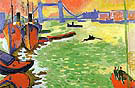 The Thames and Tower Bridge 1906 - Andre Derain