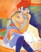 Woman with Blouse 1907 - Andre Derain