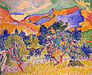 Mountains Collioure 1905 - Andre Derain