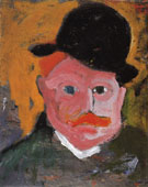 Portrait of Vlaminck Circa 1905 - Andre Derain