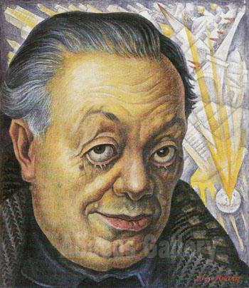 1282626461 large-image diego rivera self portrait the ravages of time    Diego Rivera Self Portrait