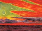 Evening Twilight at Acapulco 1956 - Diego Rivera