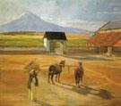 The Threshing Floor 1904 - Diego Rivera