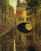 House Over the Bridge c1909 - Diego Rivera