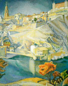 View of Toledo 1912 - Diego Rivera