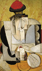 Sailor at Breakfast 1914 - Diego Rivera