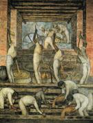 The Sugar Mill 1923 - Diego Rivera