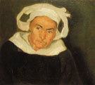 Head of a Breton Woman 1910 - Diego Rivera