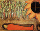 The Blood of the Revolutionary Martyrs Fertilizing the Earth Detail c1926 - Diego Rivera