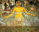 Figure Symbolizing the Asiatic Race - Diego Rivera
