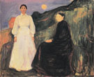 Mother and Daughter 1897 - Edvard Munch