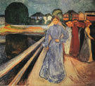 Woman on the Bridge 1902 - Edvard Munch