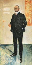 Walther Rathenau 1907 - Edvard Munch