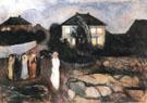 Stormy Night 1893 - Edvard Munch