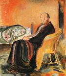 Self Portrait after Spanish Influenza 1919 - Edvard Munch