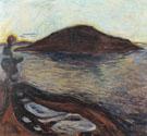 The Island c1900 - Edvard Munch