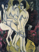 Judgement of Paris 1913 - Ernst Ludwig Kirchner
