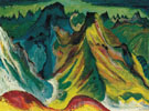 The Mountains 1921 - Ernst Ludwig Kirchner