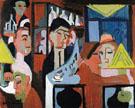 Cafe in Davos 1928 - Ernst Ludwig Kirchner