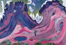 The Amselfluh 1923 - Ernst Ludwig Kirchner