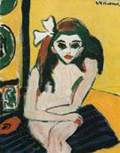 Marcella c1909 - Ernst Ludwig Kirchner