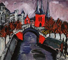 Red Elisabeth Embankment Berlin 1912 - Ernst Ludwig Kirchner